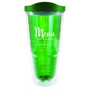 24oz. Orbit Tumbler with Lid