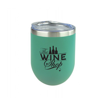 12oz. Sipper Wine Tumbler