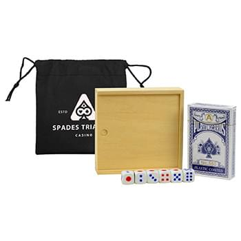 FUN ON THE GO GAMES -POKER SET