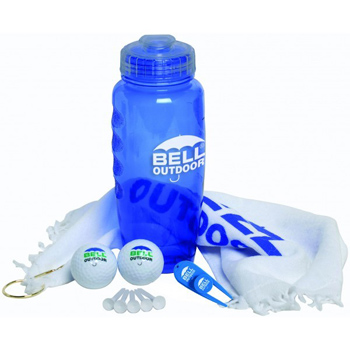 Poly-Cool Bottle Golf Kit