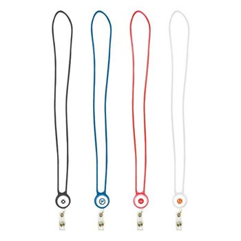 Retractable Silicone Lanyard